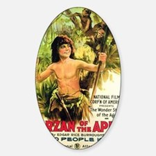 Tarzan of the Apes Poster 1918 Decal