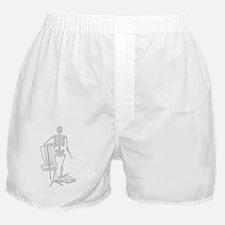 BIRDSHOT DISC GOLF SKELETON Boxer Shorts