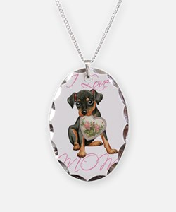 Min Pin Mom Necklace