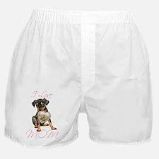 Min Pin Mom Boxer Shorts