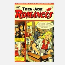 Teen-Age Romances No 23 Postcards (Package of 8)