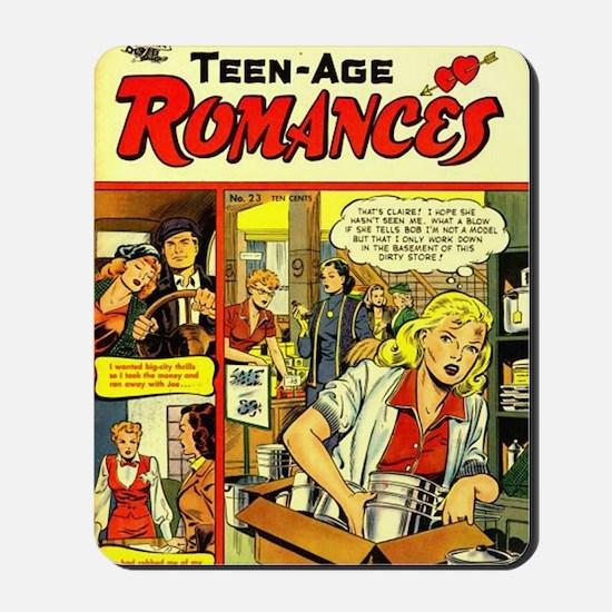 Teen-Age Romances No 23 Mousepad