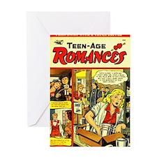 Teen-Age Romances No 23 Greeting Card