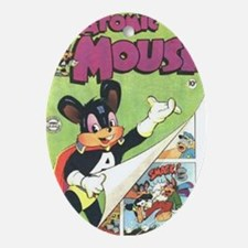 Atomic Mouse No 6 Oval Ornament