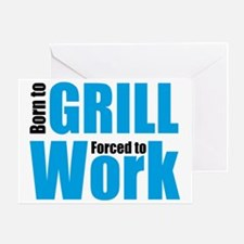 grill Greeting Card