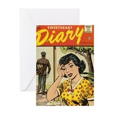 New Intimate Stories Sweetheart Diar Greeting Card