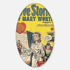 Love Stories of Mary Worth Decal