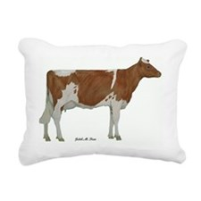 Guernsey milk cow Rectangular Canvas Pillow