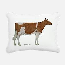Guernsey milk cow Rectangular Canvas Pillow