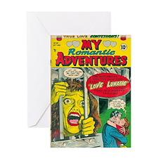 My Romantic Adventures 1954 Greeting Card