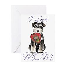 minSch mom Greeting Card