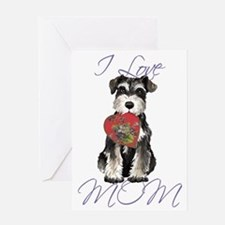 minSch mom Greeting Card