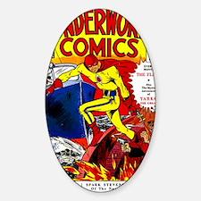 Wonderworld Comics No 3 Decal