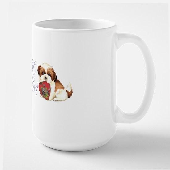 shih tzu-mug Large Mug