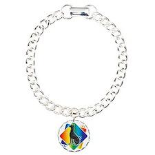 Abstract Rainbow Doberma Bracelet