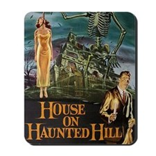 House on Haunted Hill. Mousepad