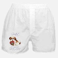 shih tzu-magnet Boxer Shorts