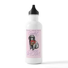 poodle-card Water Bottle