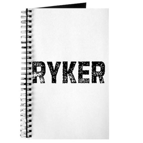 Ryker Journal