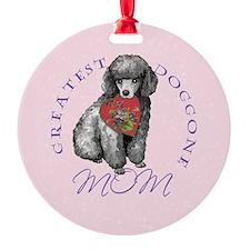 poodle-button Ornament