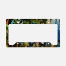 Hawaii Surf License Plate Holder