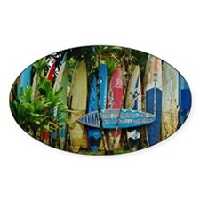 Hawaii Surf Decal
