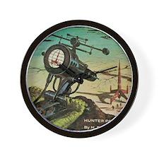 Hunter Patrol Cover Wall Clock