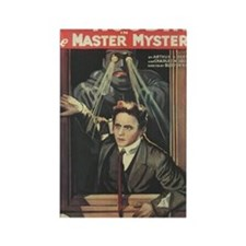 Mastery Mystery with Harry Houdin Rectangle Magnet