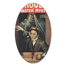 Mastery Mystery with Harry Houdini Decal