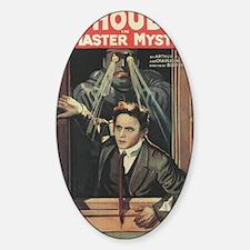 Mastery Mystery with Harry Houdini Sticker (Oval)