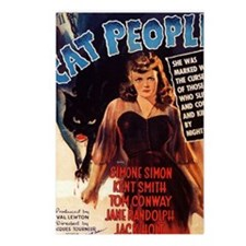 Cat People Poster Postcards (Package of 8)