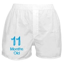 11 Months Old Baby Milestones Boxer Shorts