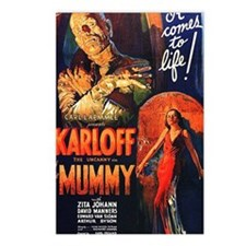 Mummy 1932 Postcards (Package of 8)