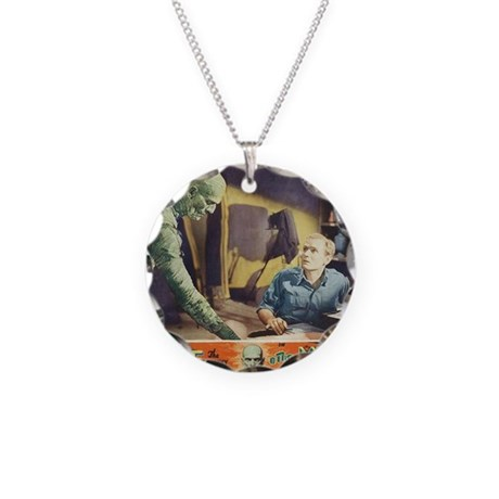 Mummy1932 Necklace Circle Charm