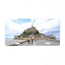 Mont St. Michel, Normandie  Aluminum License Plate