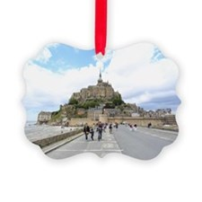 Mont St. Michel, Normandie France Ornament