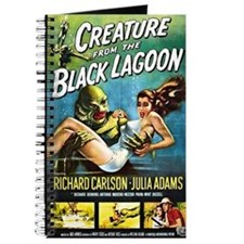 Creature from the Black Lagoon Poster Journal