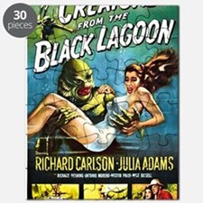 Creature from the Black Lagoon Poster Puzzle