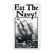 Eat The Navy! 3'x5' Area Rug