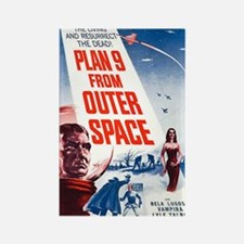 Plan 9 From Outer Space Poster Rectangle Magnet