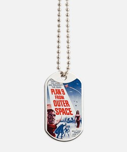 Plan 9 From Outer Space Poster Dog Tags