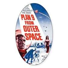 Plan 9 From Outer Space Poster Decal