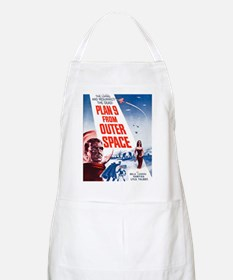 Plan 9 From Outer Space Poster Apron