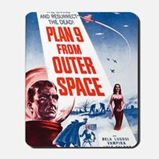 Plan 9 From Outer Space Poster Mousepad