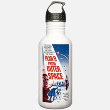 Plan 9 From Outer Spac Water Bottle
