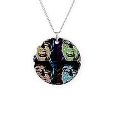 Dracula Pop Art Necklace