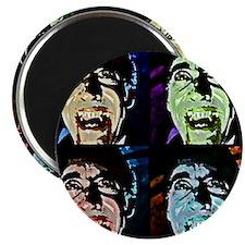 Dracula Pop Art Magnet