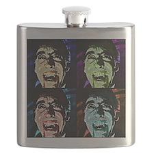 Dracula Pop Art Flask