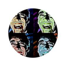 """Dracula Pop Art 3.5"""" Button"""