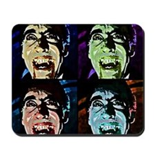 Dracula Pop Art Mousepad